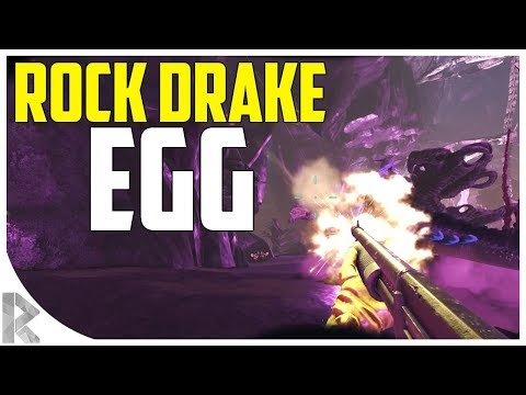 ATTEMPTING TO STEAL A ROCK DRAKE EGG w Giant Crab!  Ark Aberration Expansion Pack PVP #28
