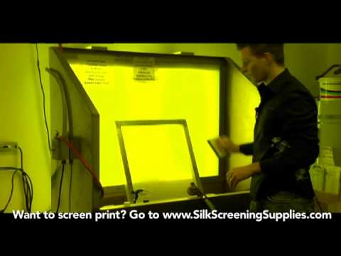 How to Screen Print - Degreasing - Detailed instruction - Screen Printing 101 DVD pt 13