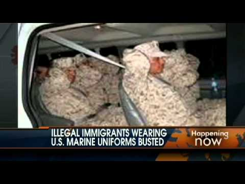 Illegal Immigrants Impersonate U.S. Marines