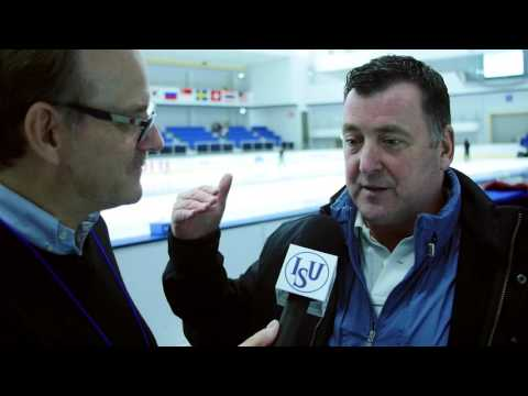 Brian Orser Interview on Preparing Skaters for Competition