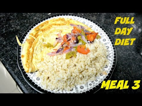 Eggs & Brown Rice | Indian Bodybuilding | Meal 3
