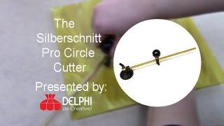 The Silberschnitt Pro Circle Cutter | Delphi Glass