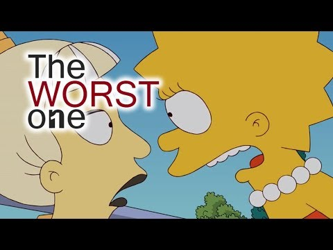 The Worst Simpsons Episode