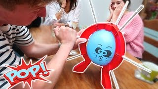 family balloon pop challenge