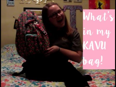 What's in my Kavu bag!