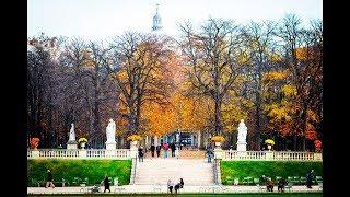 LIVE JARDIM LUXEMBURGO - OUTONO EM PARIS