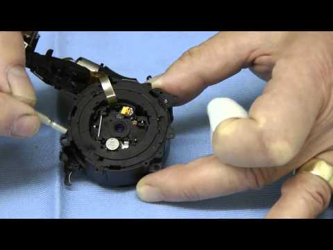 How to strip and clean a Panasonic Lumix TZ series lens - with warnings!!!