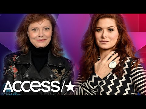 Debra Messing Tells Susan Sarandon To 'STFU' & Calls Her 'SelfRighteous'