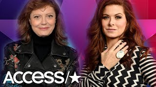 Debra Messing Tells Susan Sarandon To 'STFU' & Calls Her 'Self-Righteous'