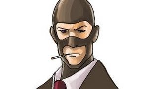 How to draw The Spy from Team Fortress 2