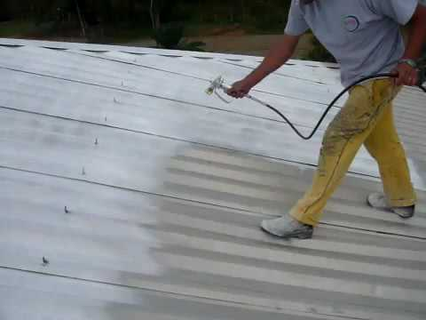 Roof coating Thermal insulation