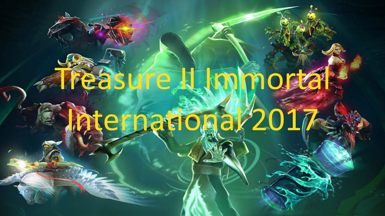 Immortal Treasure Ii Dotafire: Dota 2 TI7 Immortal Treasure II Preview