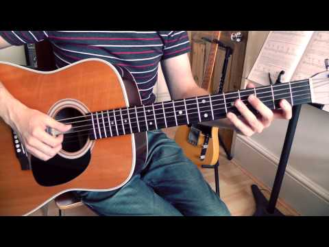 Anji By Davy Graham - Guitar Lesson