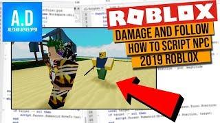 How To Script NPC, walking & Attack In Roblox Studio!
