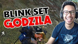 SKIN TERMAHAL GODZILA KOMBO BLINK SET - PUBG MOBILE INDONESIA