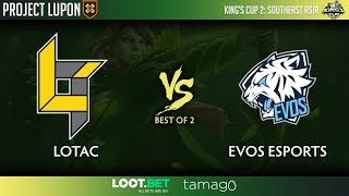 Lotac vs Evos Esports Game 1 (BO2) | Southeast Asia Kings Cup 2