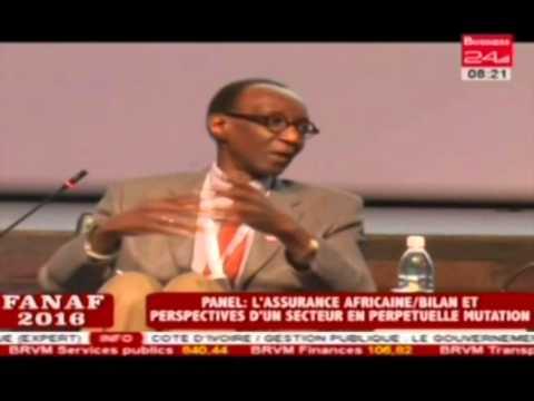 Fanaf 2016 I Panel de l''assurance Africaine