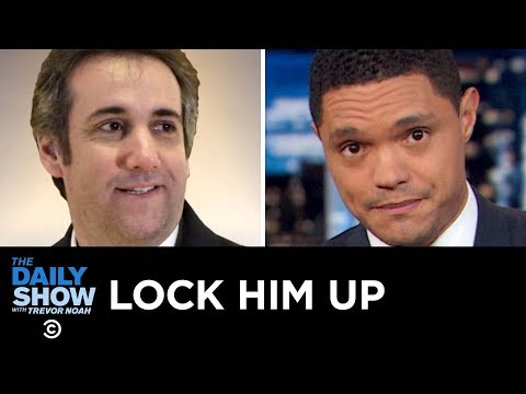 Michael Cohen's Sentence, Stormy's Suit and Google's House Hearing | The Daily Show