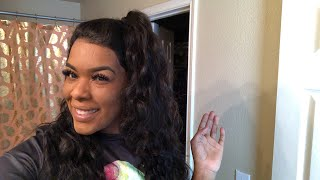 How I Installed My Cambodian 360° Body Wave Lace Frontal Wig Ft. DYHair777