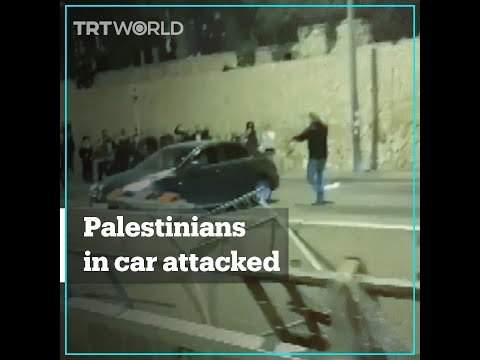 Far-right Israelis Attack Car Filled With Palestinians