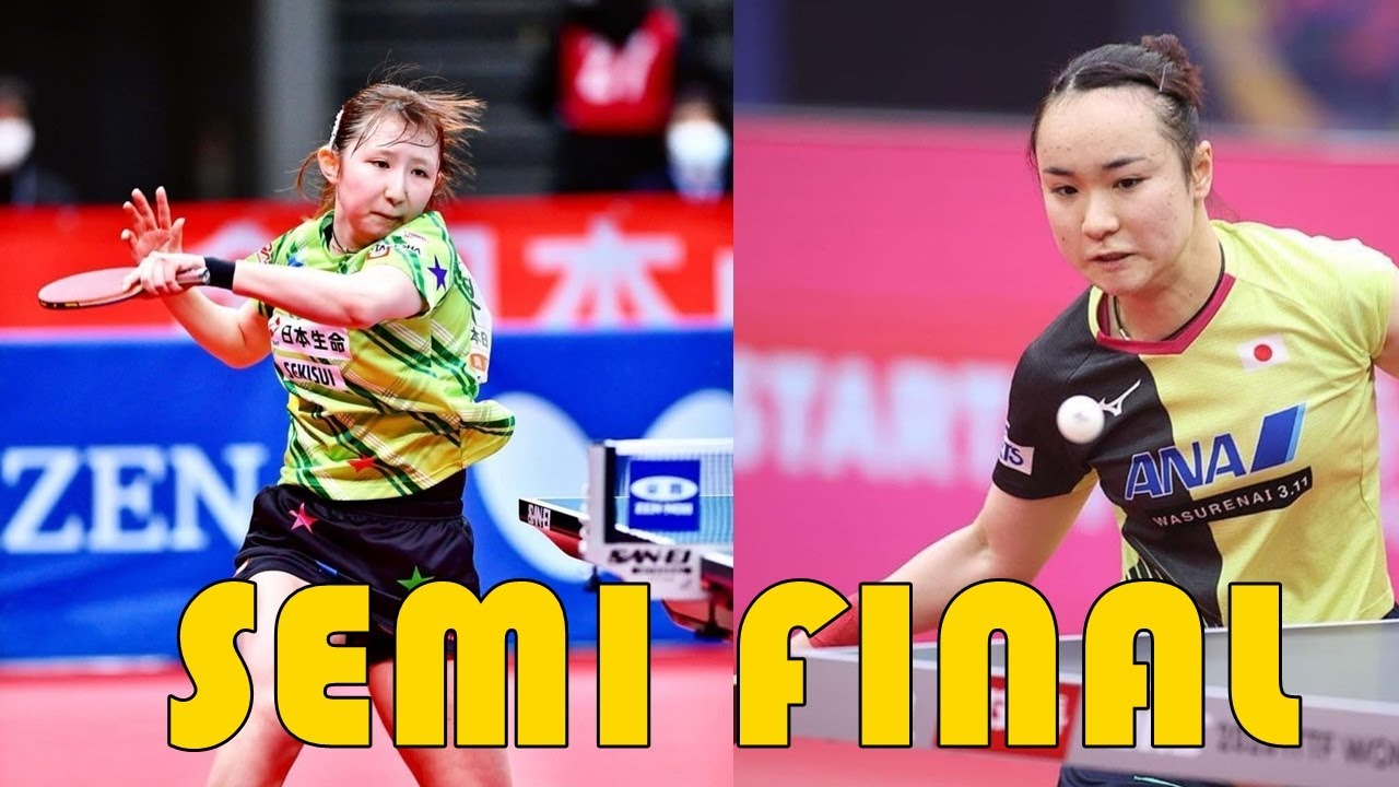 Download Mima Ito vs Hina Hayata | 2021 ALL JAPAN TABLE TENNIS TOURNAMENT SEMIFINAL  MATCH