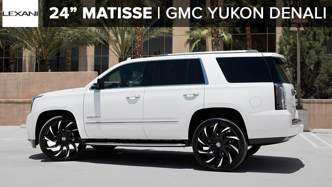 Gmc Yukon Denali On 26 Matisse Mbt Finish Lexani Wheels Youtube