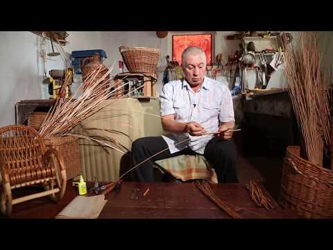 «Ручная работа». Корзина из ивовой лозы (06.08.2014)