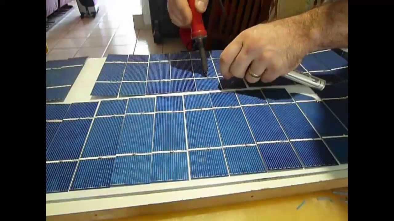 Como Hacer Paneles Solares Como Elaborar Paneles 48