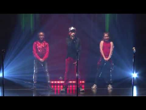 Elevate LIVE's Wednesday night group performs International Love/I Cry at Hip Hop Holidays 4