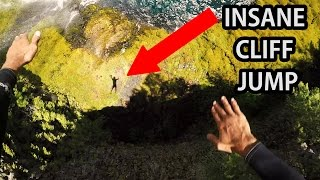 Crazy Cliff Jumping - OREGON USA  4K