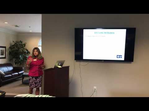 Reviewing public records with Debbie Riley