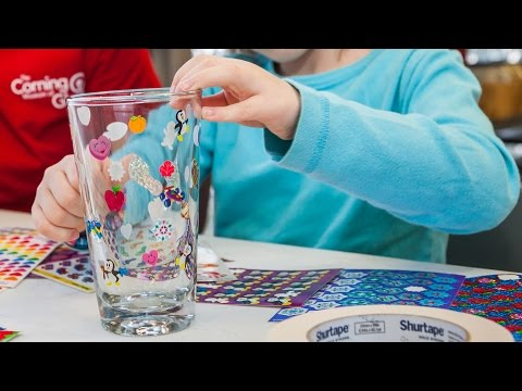 Make Your Own Glass Sandblasted Project