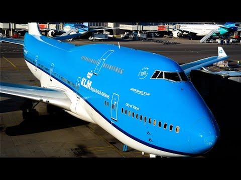 KLM ECONOMY CLASS |HONG KONG - AMSTERDAM | BOEING 747-400
