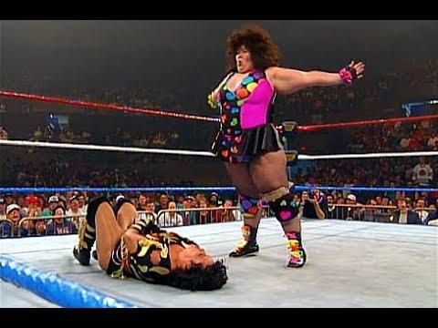 (720pHD): WWE RAW 04/24/95 - Bertha Faye vs. La Pantera Surena