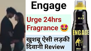 Engage Urge deodorant body spray review hindi Click Review