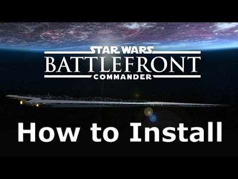 How To Install Battlefront Commander Mod For Star Wars EAW FOC