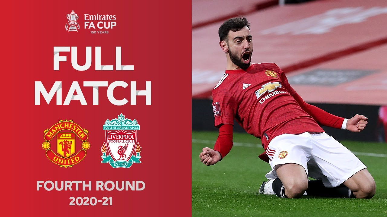Download FULL MATCH | Fernandes Free-Kick Wins Thriller | Man United vs Liverpool | Emirates FA Cup 2020-21