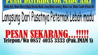 Toko Mandiri Jaya Jual Madu Asli Grosir Madu Curah & Madu Kemasan Hp/wa 0857 4035 3333