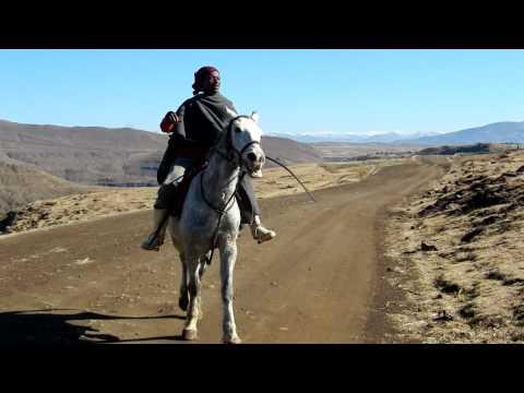 Horseback riding in Lesotho