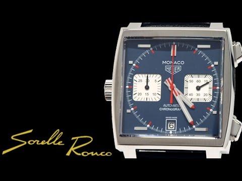 Tag Heuer Monaco Vintage Calibre 11 Steve McQueen