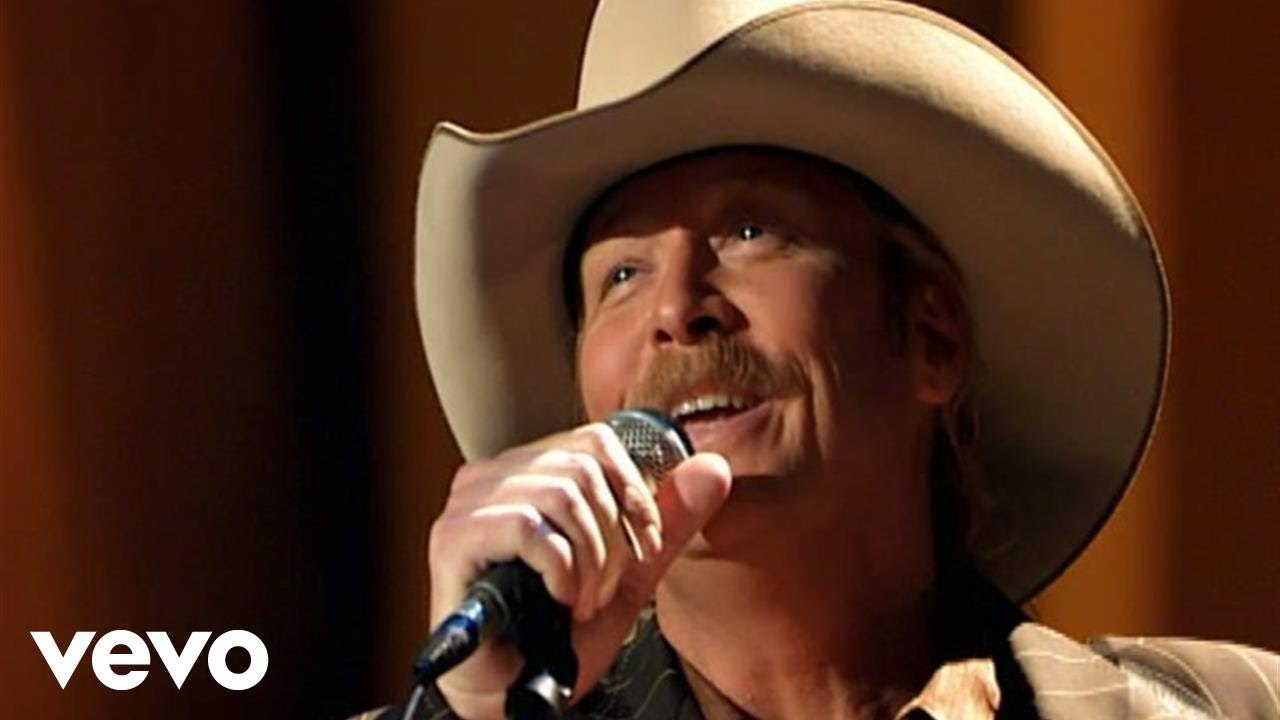 Alan Jackson Standing On The Promises Of God Live Youtube