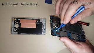 Samsung GALAXY A5 2015 Battery Replacement