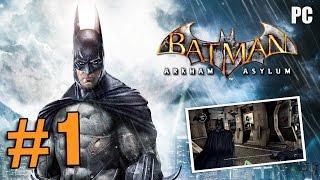 BATMAN ARKHAM ASYLUM - PART 1 - GTX 570 - [PC Gameplay]