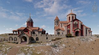 Православный Свято-Георгиевский Катерлезский монастырь. Храмовая территория.Два Храма нашей обители.