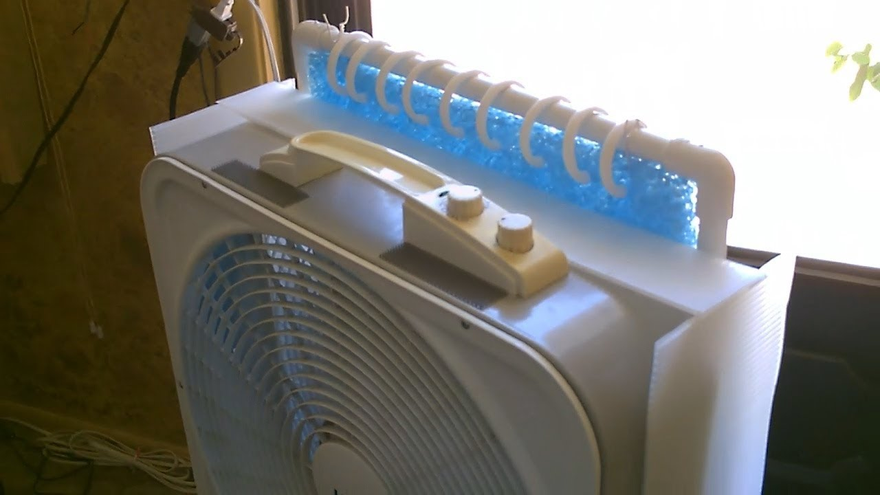 "diy evap air cooler upgrade! - make a ""plastic shroud"" for my new"
