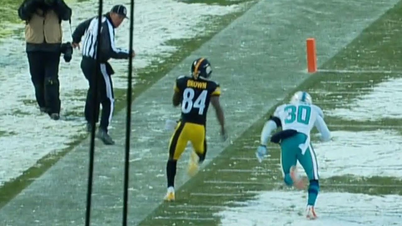 Antonio Brown's Near Miracle in the Snow | NFL Classic Game Highlights