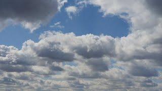 Time-Lapse. Красивые облака и небо. Ускоренная съемка. Музыка для медитации и релакса.