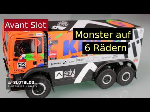 Avant Slot MAN 6×6  Truck
