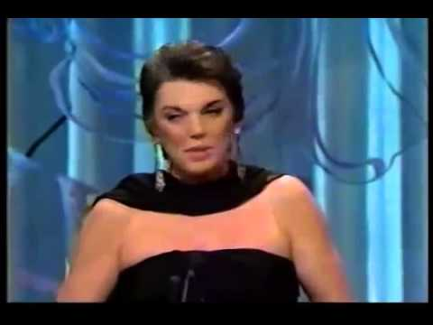 Tyne Daly wins 1990 Tony Award for Best Actress in a Musical