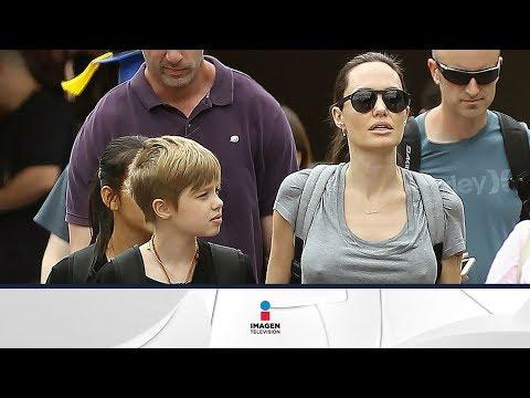 El hijo transgénero de Angelina Jolie y Brad Pitt | Sale el Sol | Imagen Entretenimiento